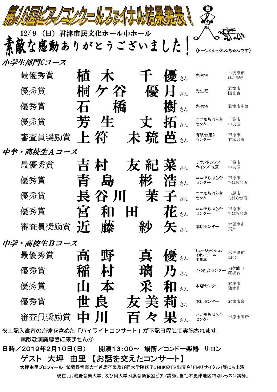 第16回Pコンファイナル結果発表02